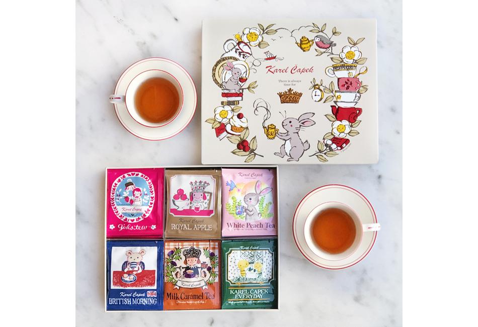 カレルチャペック紅茶店 All About Tea缶 紅茶