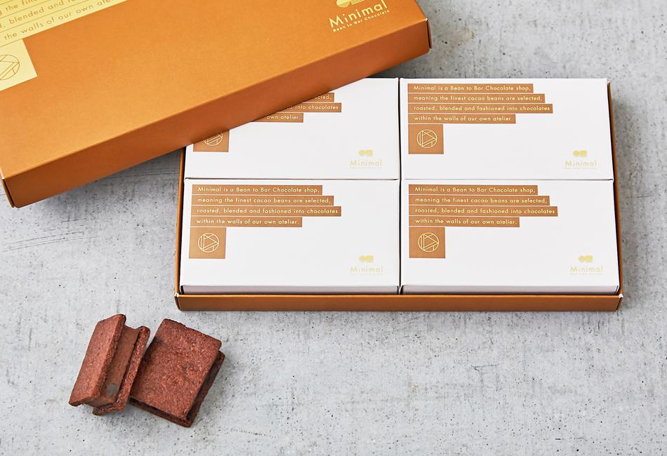 チョコレートサンドクッキー -マロン- パッケージ