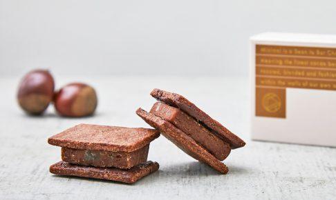 チョコレートサンドクッキー -マロン- Minimal