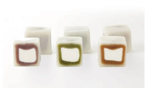 MOCHI cube 12個入り 宝月堂 断面