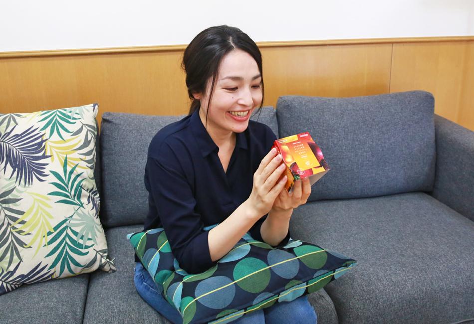 野菜をMOTTO 北海道産「レッドビーツ」と根菜ごろごろ 濃厚ボルシチ パッケージ確認