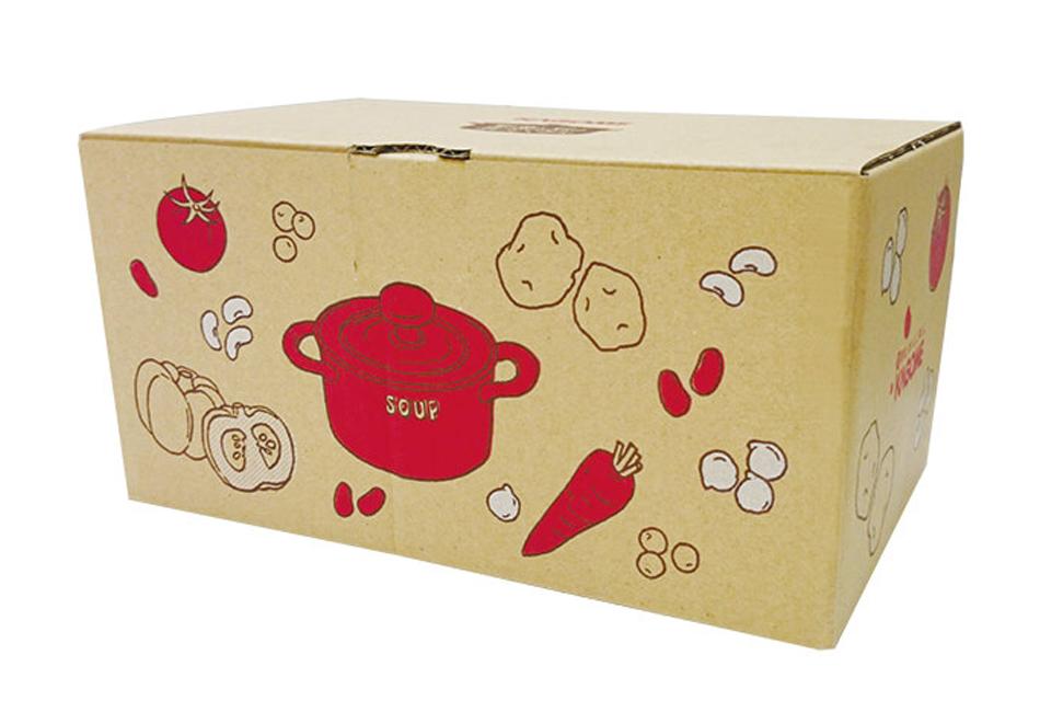 野菜と豆の具だくさんポタージュセット カゴメ パッケージ