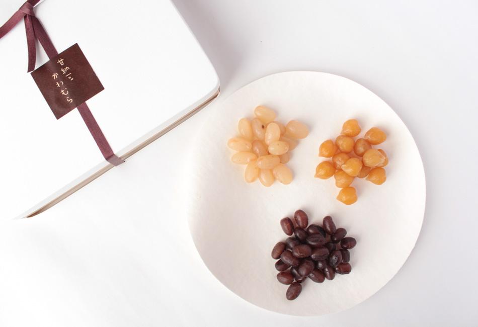 まめ日記 甘納豆かわむら 4種類