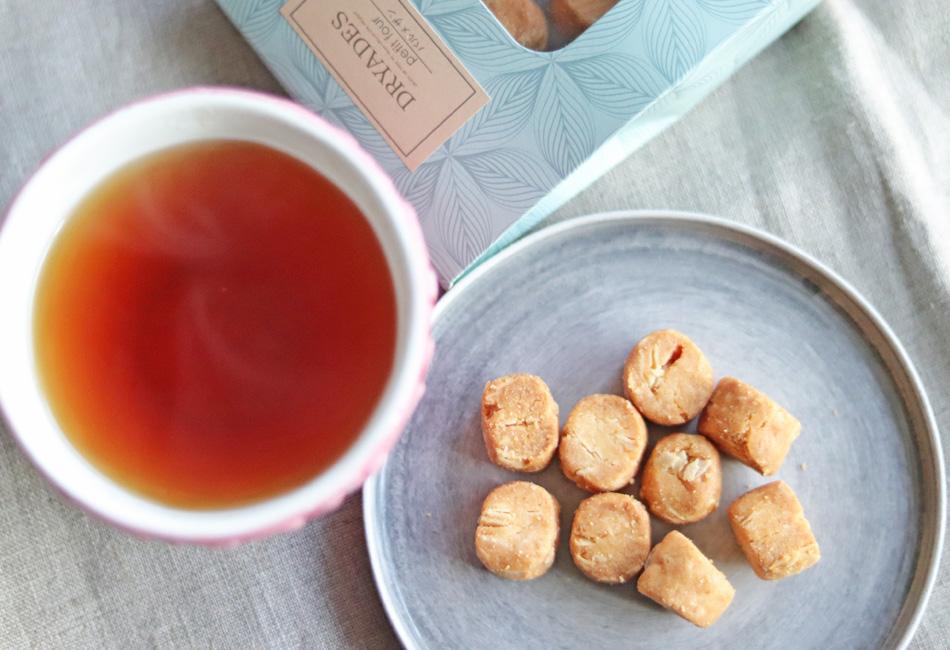 プティフール(パルメザン) 紅茶と併せて