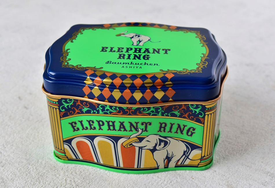 ショコラバウムラスク〈14枚入り〉 ELEPHANT RING 缶入り