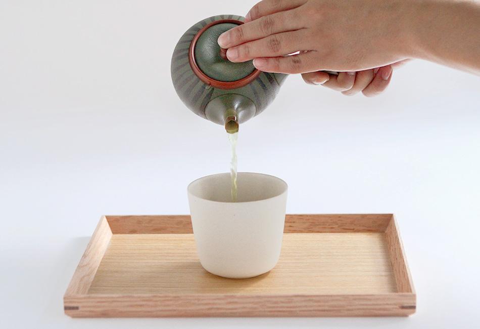 大井川農協 緑茶 愛ことはじめ お茶の入れ方4