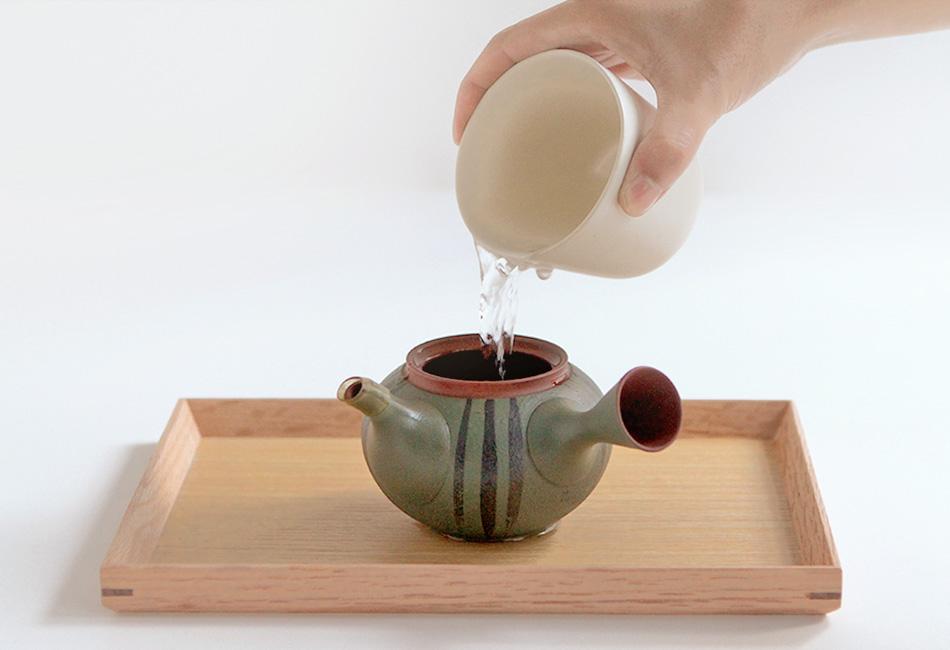 大井川農協 緑茶 愛ことはじめ お茶の入れ方3