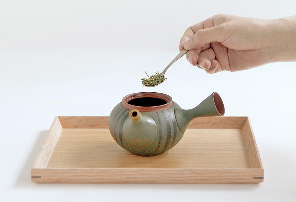 大井川農協 緑茶 愛ことはじめ お茶の入れ方2
