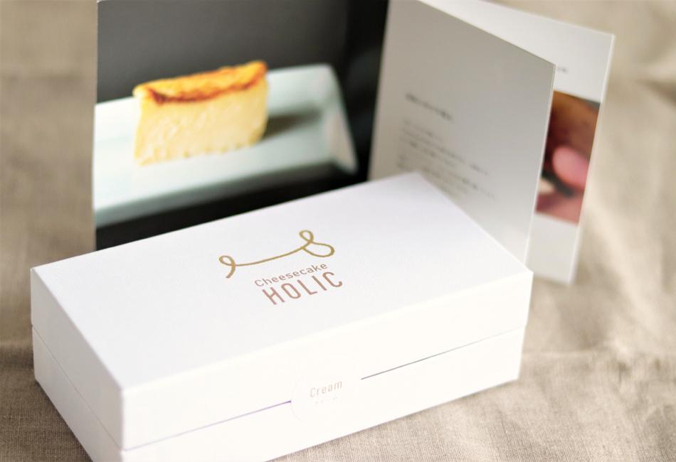 クリームチーズケーキ Cheesecake HOLIC パッケージ
