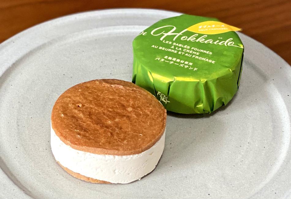 ラ・テール 北のごちそう「バターチーズサンド」 ダブルチーズ