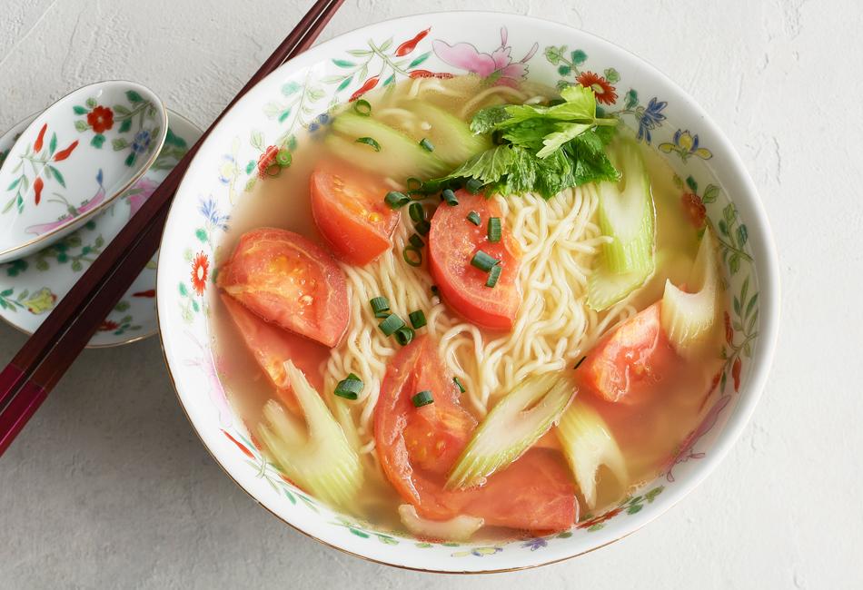 邦栄堂製麺 トマト麺