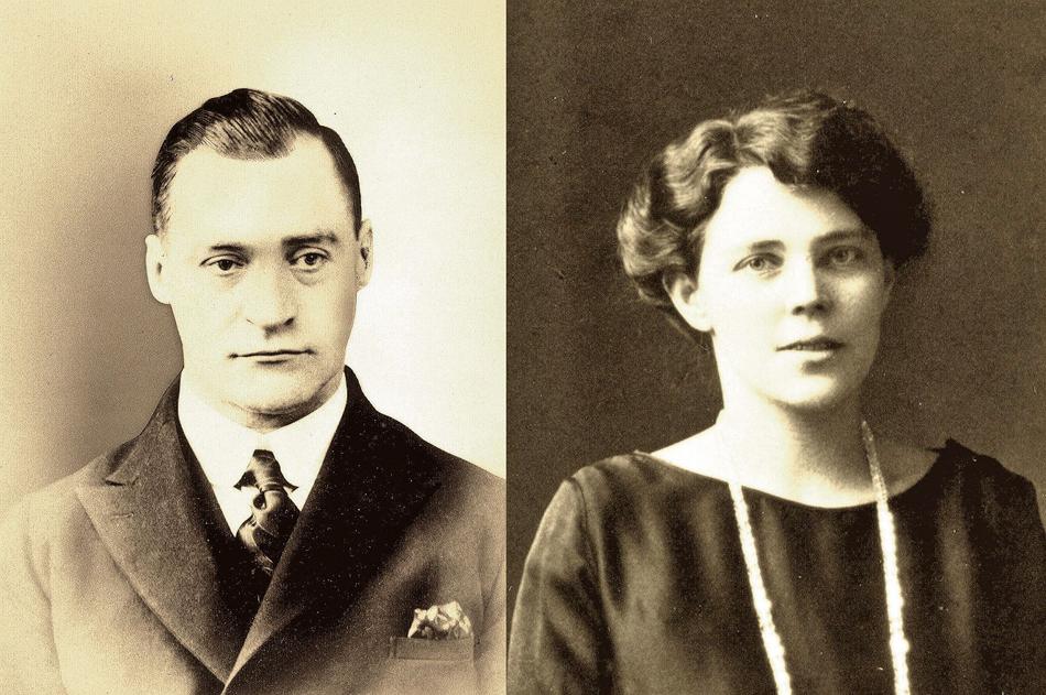 ユーハイム夫妻