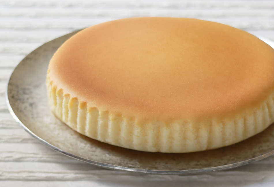 御用邸チーズケーキ チーズガーデン 焼色