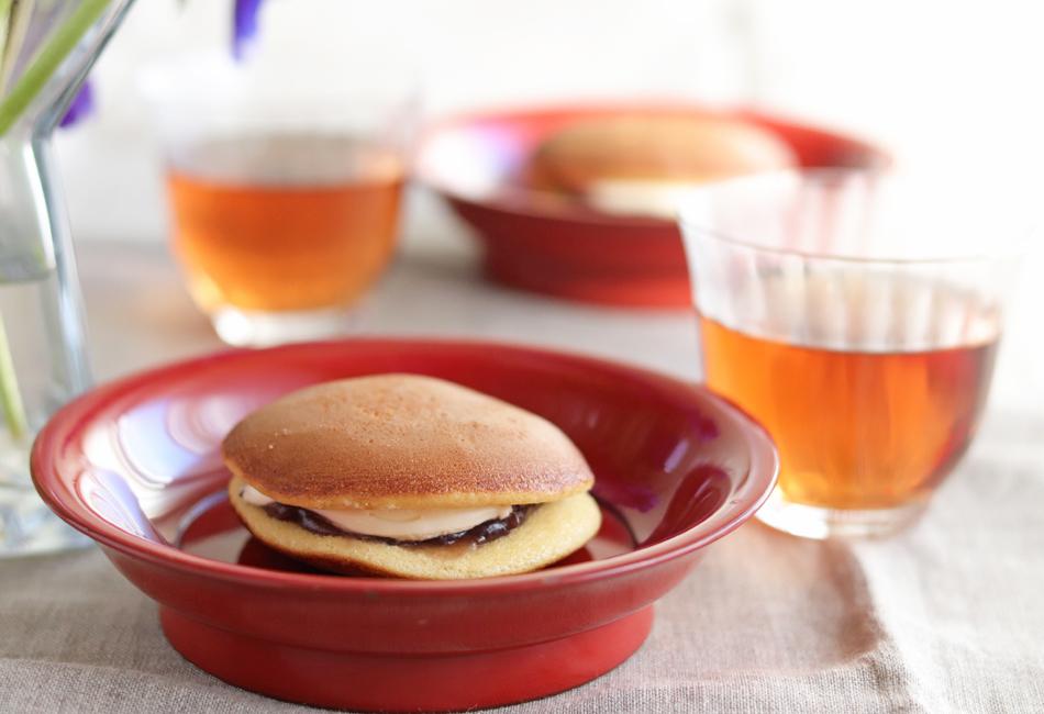 チーズどら焼き リブラン 紅茶と一緒に