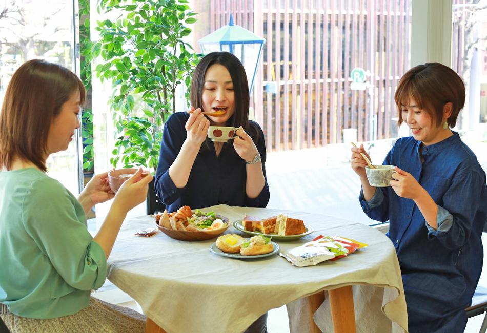 野菜と豆の具だくさんポタージュセット カゴメ 試食会