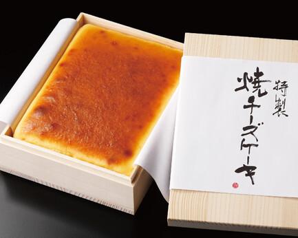 武蔵野茶房 特製焼チーズケーキ【木箱入】 M・dish