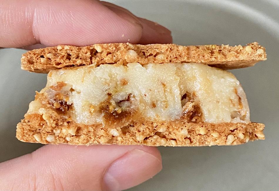米粉のバターサンド 6個入 高山堂 いちじく 断面