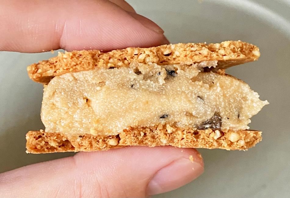 米粉のバターサンド 6個入 高山堂 きなこ黒豆 断面