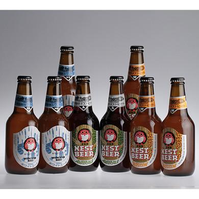 常陸野ネストビール 330ml 8本セット 木内酒造