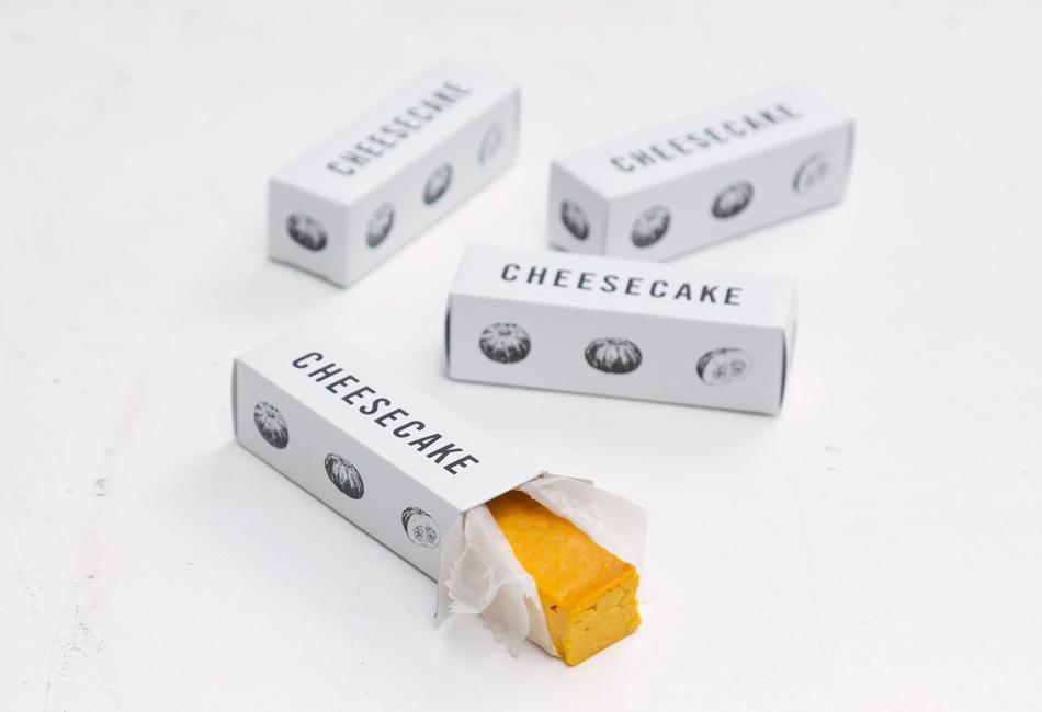 栗マロンかぼちゃのチーズケーキ(8本箱セット) ZUCCA パッケージ