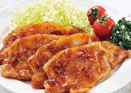 瀬戸内六穀豚 生姜焼き用(たれ漬け)