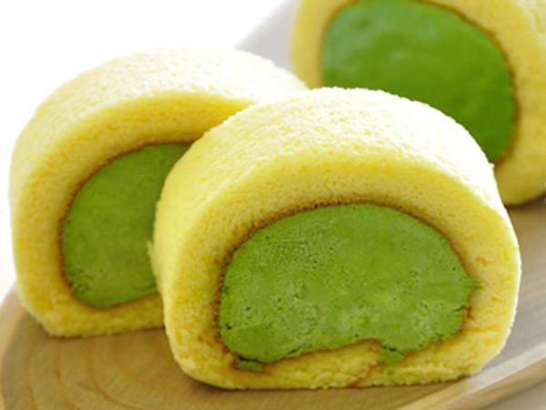 濃茶ロールケーキ(ロングサイズ)