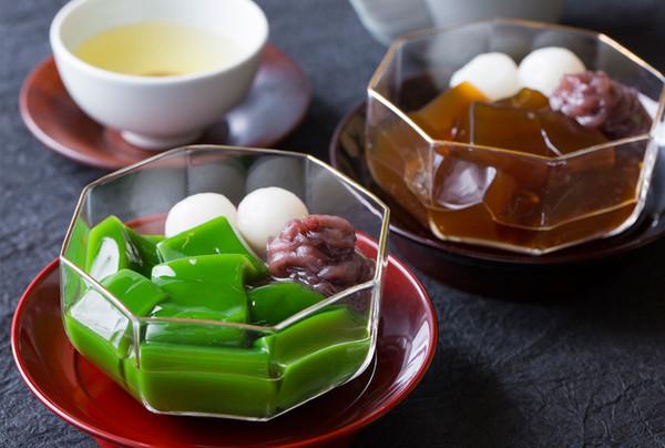 生茶ゼリイ詰合せ[抹茶・ほうじ茶]