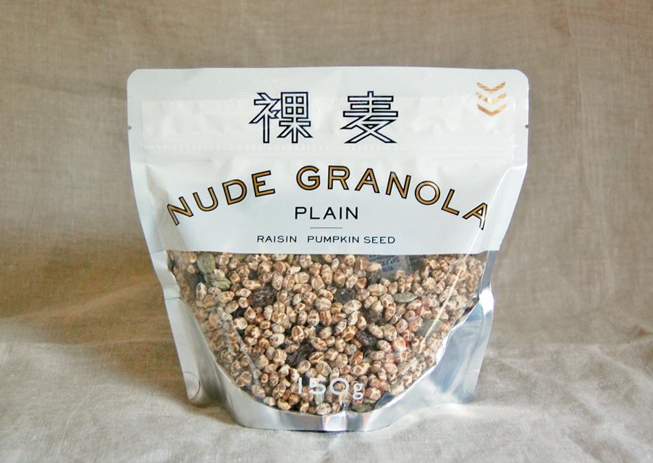 NUDE GRANOLA パッケージ