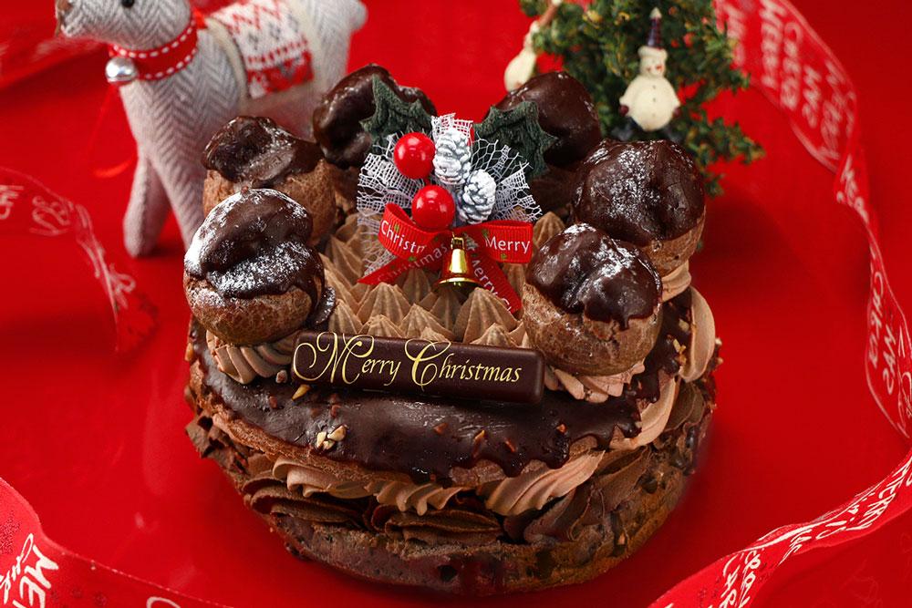禁断のクリスマスケーキプレミアム チョコパリブレスト