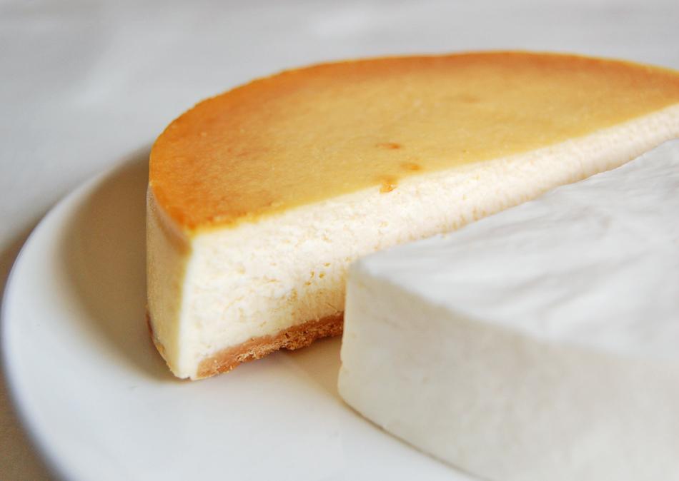 ベイクドチーズ 断面