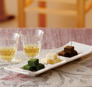 3種の贅沢生チョコ風呂敷包みギフト