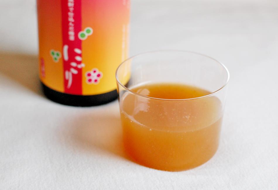「八海山の米焼酎で仕込んだ梅酒 にごり」原酒2