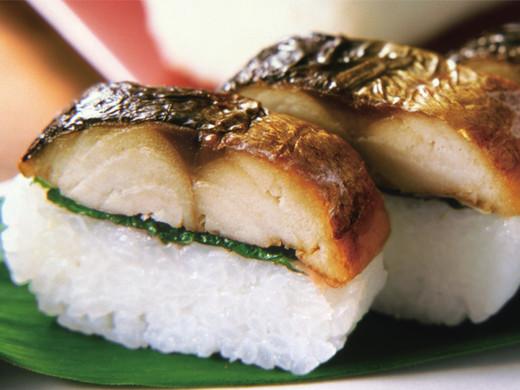 元祖『焼き鯖寿司』1本