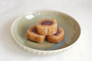 笹屋伊織のどら焼き 皿のせ1