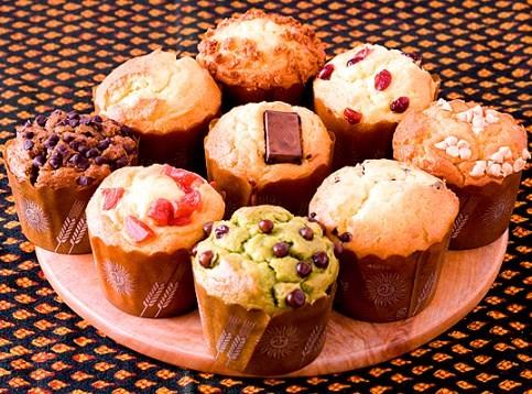 洛北マフィン(カップケーキ) 選べるお得な4個セット