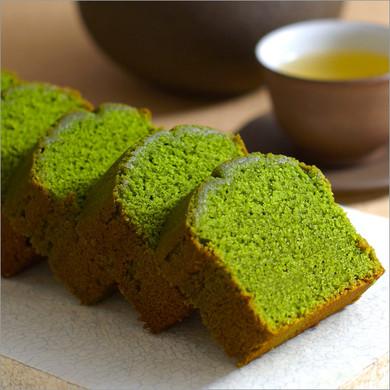 老舗お茶屋の宇治抹茶パウンドケーキ
