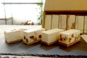 白砂糖不使用チーズケーキ 食べ比べ4種アソートBOX