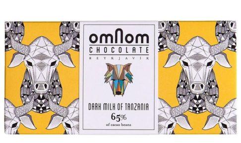 オムノムチョコレート ダーク ミルク タンザニア65%
