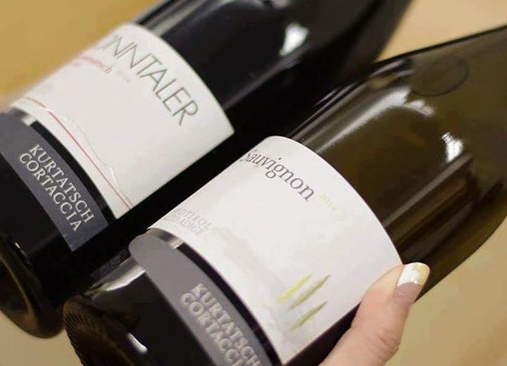 2本届くワイン