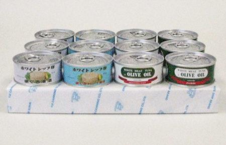 4種のツナ缶